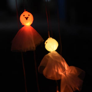 SOLAR GHOST WIND CHIME LIGHT