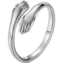 Load image into Gallery viewer, Buy 2 Free Shipping-😍LoveHugRing™ 925 Sterling Silver Hug Ring😍