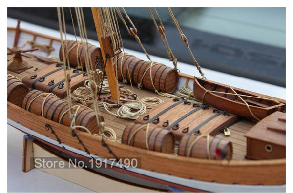Wooden Ship Models Kits Leudo 1800 1900 Madbananas