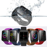 Q9 Waterproof Sports Smart Watch for Android / iOS - BLACK (1 Free Black Strap)