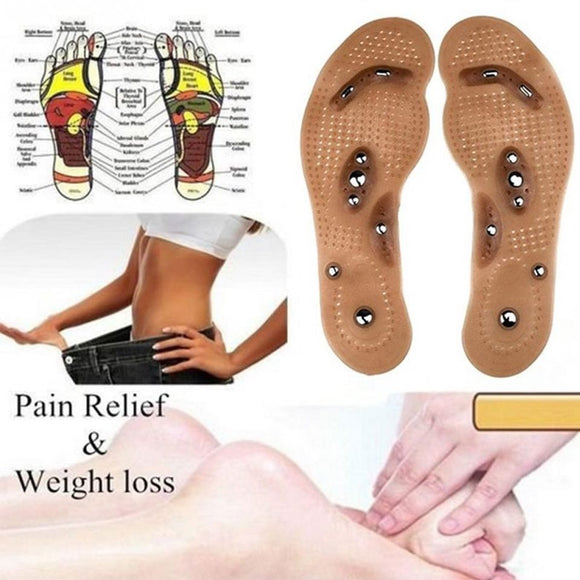 Original Magnetic Reflex Insoles (1pair) - BUY 1 TAKE 1 = 2 PAIRS! (CAN BE CUT TO FIT SHOE)
