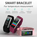 S3 Smart Watch with Body Temperature, Blood Pressure, Hear Rate Monitoring etc.