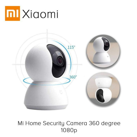 [Global Version] Xiaomi Mijia CCTV Camera Wifi 2MP 1080P HD 360 Degree Infrared Night Vision cctv IP camera USB Version