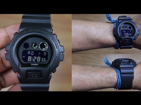 Casio G-Shock DW6900BB-1ER - Original - Buy 1 Take 1