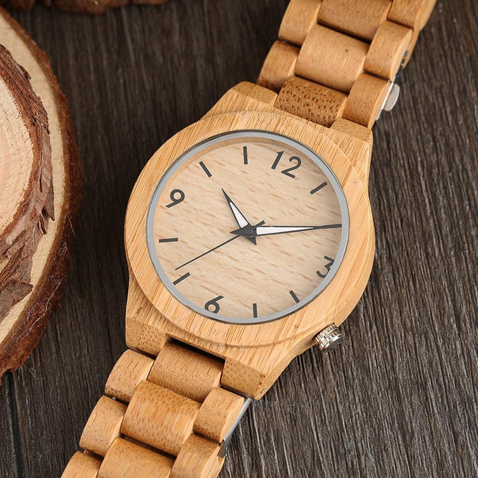 Luxury Natural Bamboo Watch