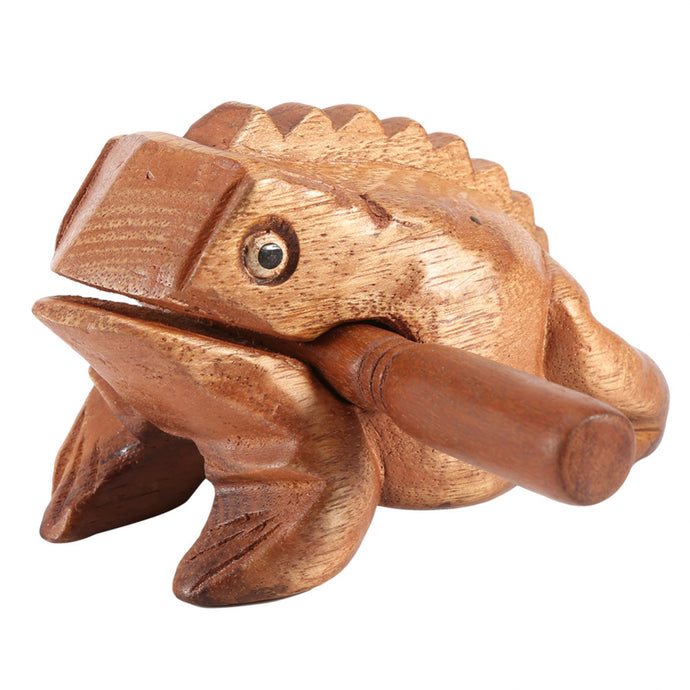 Thailand Feng Shui Wooden Percussion Frog