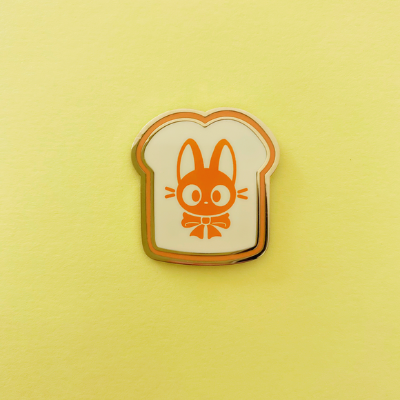 Kitty Toast Enamel Pin