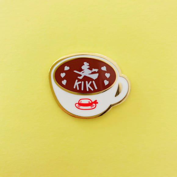 Witch Hot Choco Enamel Pin