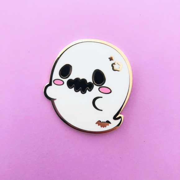 ♥B GRADE PIN♥ Ghost Enamel Pin