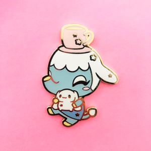 ♥B GRADE♥ Limited Edition Blue Elephant Enamel Pin