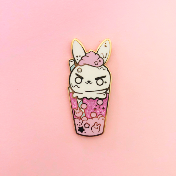♥B GRADE♥ Bunny Float Enamel Pin