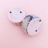 Pastel Konpeito Overlapping Washi Tape