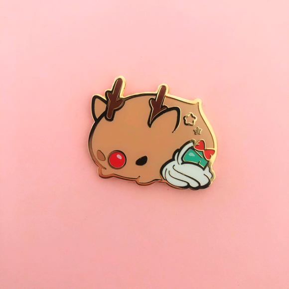 ♥B GRADE PIN♥ Hazlenut Reindeer Whipping Cream Friends