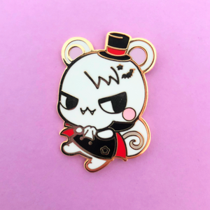 Vampire Squirrel Enamel Pin