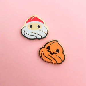 Santa and Pumpkin Dollop