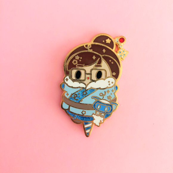 ♥B GRADE♥ Freeze Cotton Candy Enamel Pin
