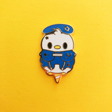Limited Edition Heart Friends Cotton Candy Enamel Pin