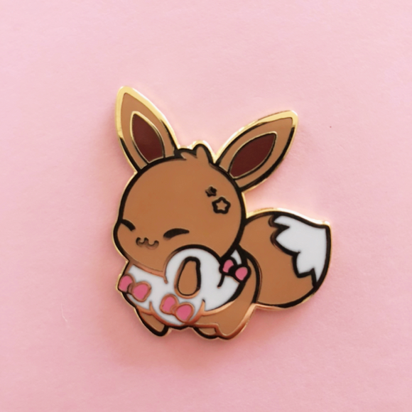 ♥B GRADE♥ Ribbon Enamel Pin