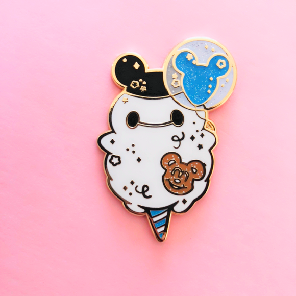 ♥B GRADE♥ Limited Edition Blue Balloon Enamel Pin