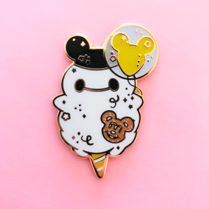 ♥B GRADE♥ Limited Edition Yellow Balloon Enamel Pin