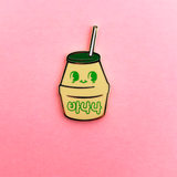 Milk Enamel Pins