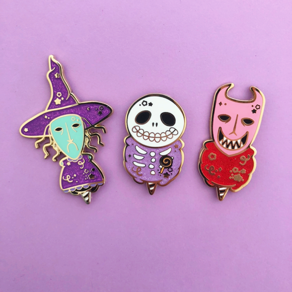 Henchmen Cotton Candy Enamel Pin