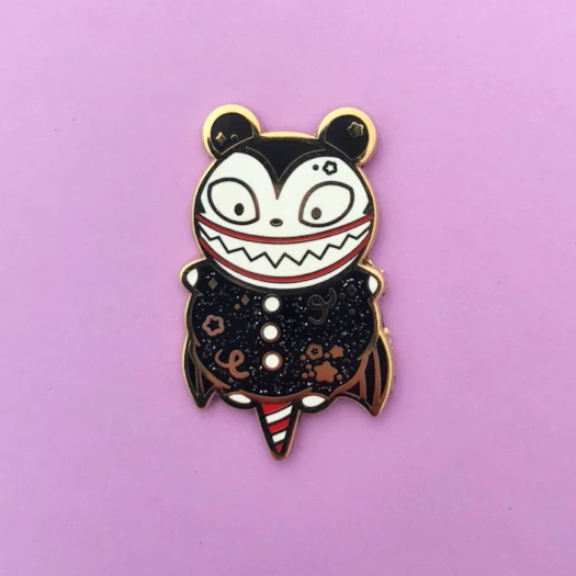 Teddy Cotton Candy Enamel Pin
