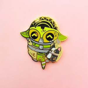 ♥B GRADE♥ Super Charger Cotton Candy Enamel Pin