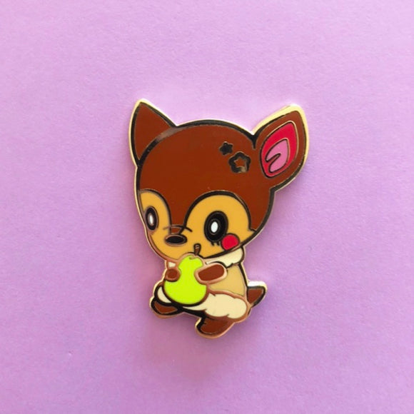 ♥B GRADE♥ Brown Deer Enamel Pin