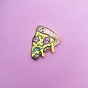 Mermaid Pizza Enamel Pin