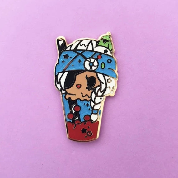 Corsair Float Enamel Pin