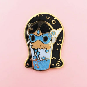 Symm Float Enamel Pin