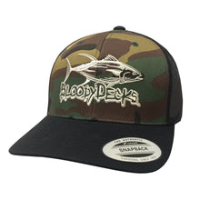 Load image into Gallery viewer, CLASSIC TUNA (CAMO) SNBK - Bloodydecks - BDOutdoors - Fishing Tee Shirts