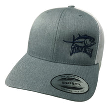 Load image into Gallery viewer, Fishdope Albacore Snapback Hat - Bloodydecks - BDOutdoors - Fishing Tee Shirts
