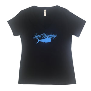 Ladies Local Knowledge Season 3 Tee - Bloodydecks - BDOutdoors - Fishing Tee Shirts