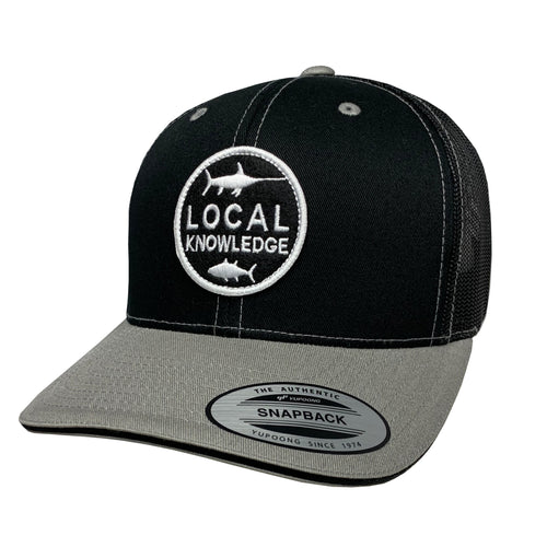 LOCAL KNOWLEDGE S5 (BLK) SNBK - Bloodydecks - BDOutdoors - Fishing Tee Shirts