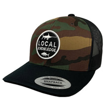 Load image into Gallery viewer, LOCAL KNOWLEDGE S5 (CAMO) SNBK - Bloodydecks - BDOutdoors - Fishing Tee Shirts