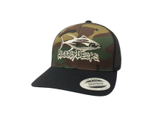Load image into Gallery viewer, Camo Bloodydecks Tuna Hat - Bloodydecks - BDOutdoors - Fishing Tee Shirts