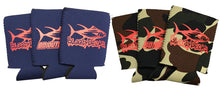 Load image into Gallery viewer, Fishing Koozies- 6 Pack Can Size - Bloodydecks - BDOutdoors - Fishing Tee Shirts