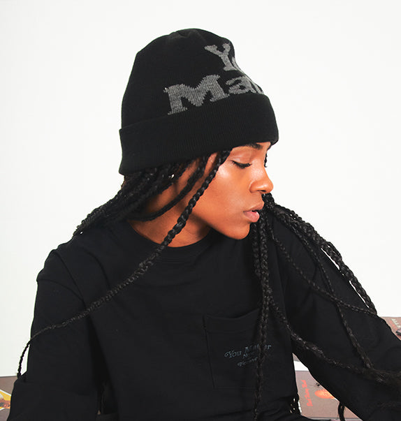 You Matter Beanie - Black