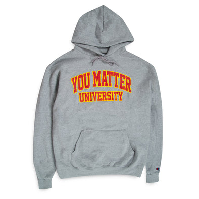 You Matter University Hoodie - Red/Yellow