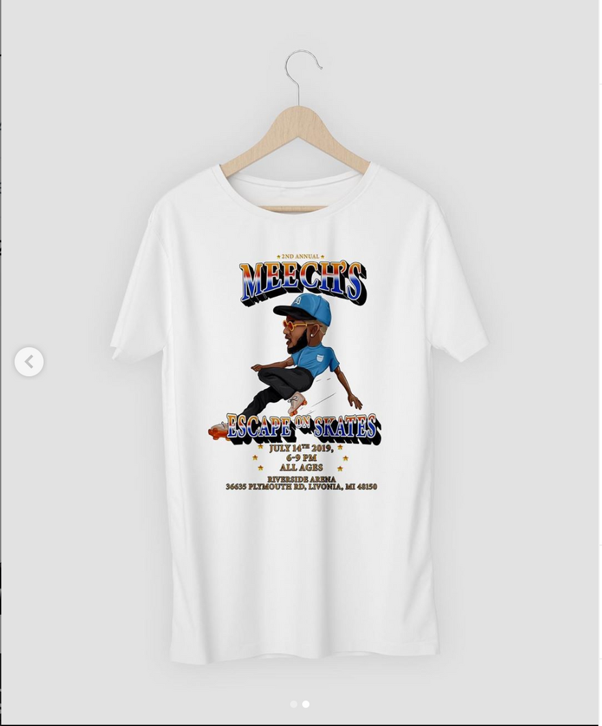Escape on Skates Tee