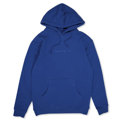 You Matter Embroidered Hoodie - Blue