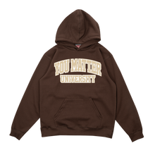 Load image into Gallery viewer, YMU Hoodie - Brown