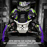 "Arctic Cat ALPHA ONE 36"" Billet Upper A-Arms (2019-2020) - Sleddersrus"