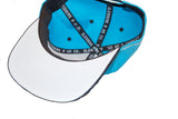 Teal and Black SRU Hat