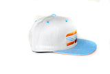 Silver - Orange and Blue SRU Hat