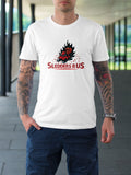 Pumpkin Sledder White T-Shirt