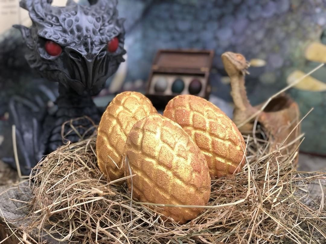 🐲NEW🐲Golden Dragon Egg Bath bombs!