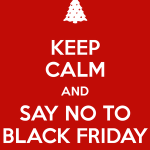 Why we are't doing Black Friday!